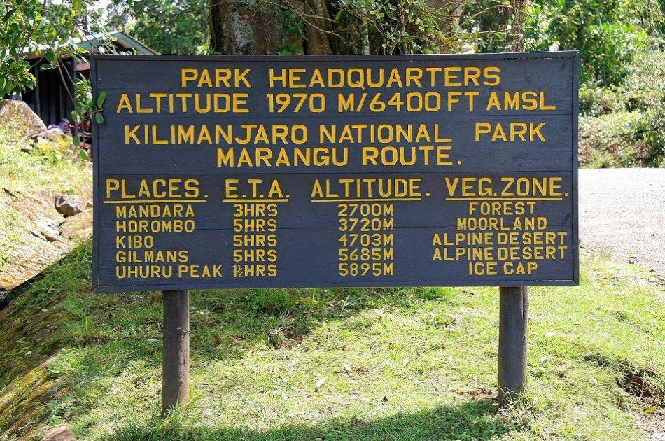 Mount Kilimanjaro Day Trek