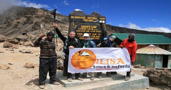 Lemosho route 8 days climbing Mount Kilimanjaro