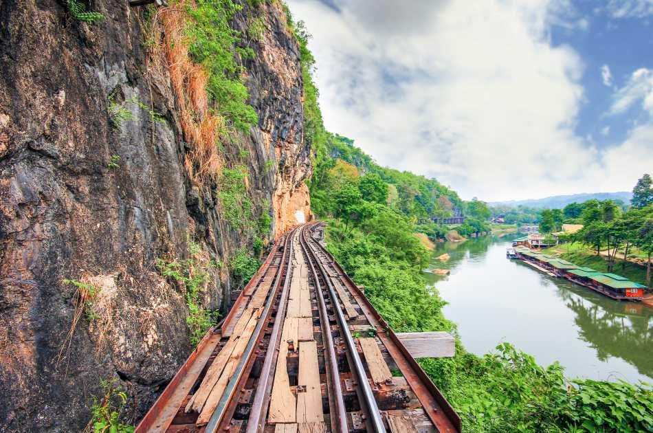 Explore the Deadly Beautiful Kanchanaburi Historical Railway With a One-day Tour