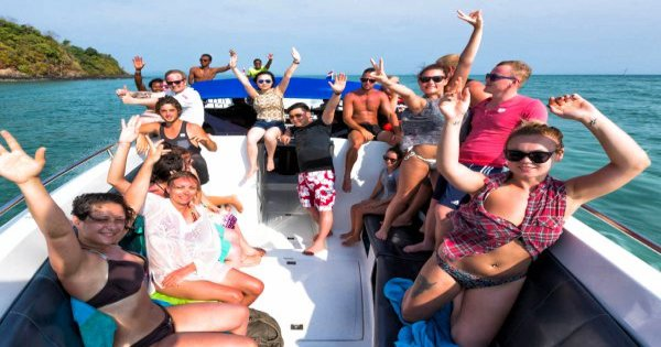 Phi Phi Island Speedboat Day Tour