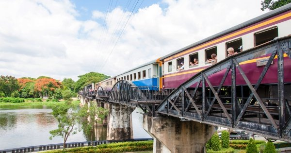 Train Tour to Kanchanaburi Province