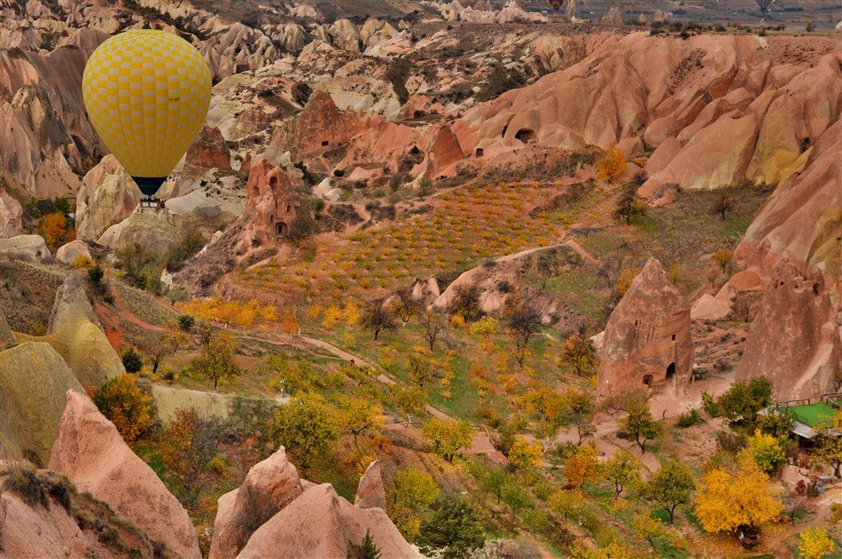 1 Day Private Cappadocia Tour From Istanbul By Plane