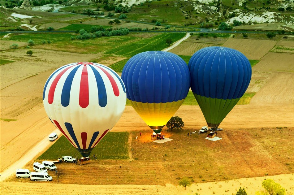 2 Day 1 Night Cappadocia Group Tour From Istanbul By Plane with Hot Air Balloon Ride