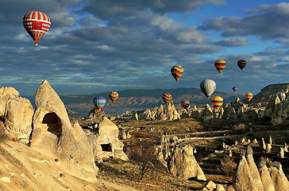 Best Group Cappadocia Hot Air Balloon Ride Tours
