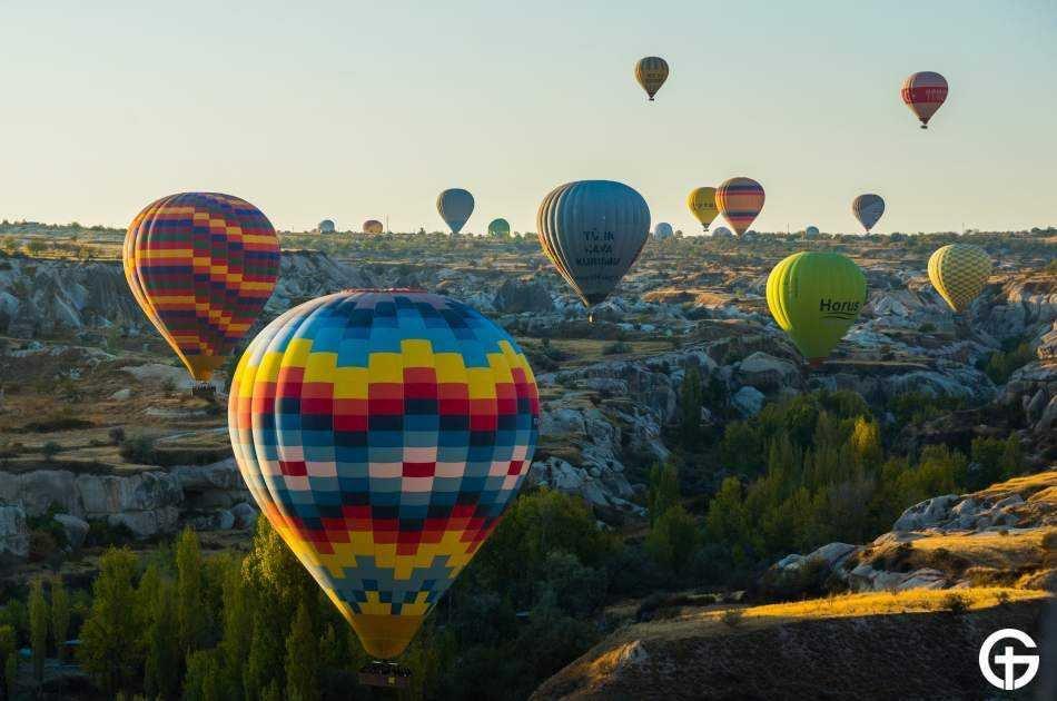 Cappadocia Hot Air Balloon with Red Tour