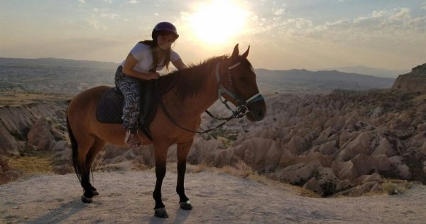 Cappadocia Sunset Horseback Riding Tour