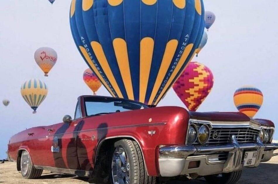 Cappadocia Tour in a Classic Car