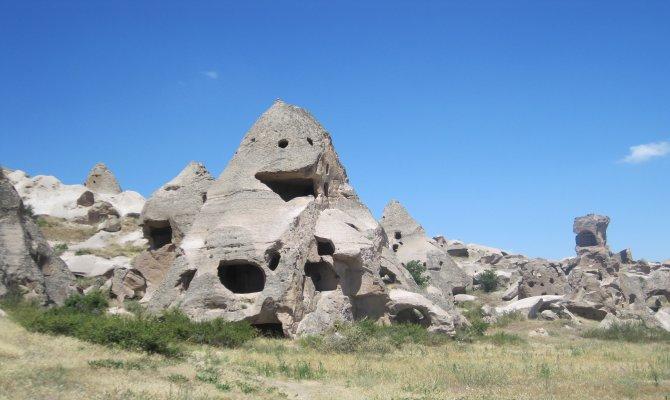 Trekking in the Lunar Landscape of Cappadocia