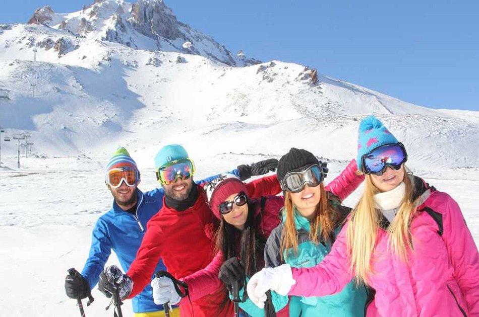 Erciyes (Argaeus) Mountain Full Day Ski Tour from Cappadocia