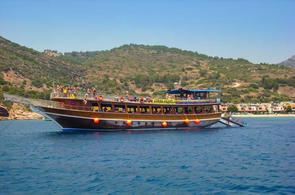 Explore the Turquoise Bays on a Kusadasi Boat Tour