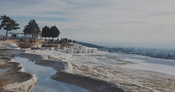 Full-Day Private Pamukkale Tour From Kusadasi