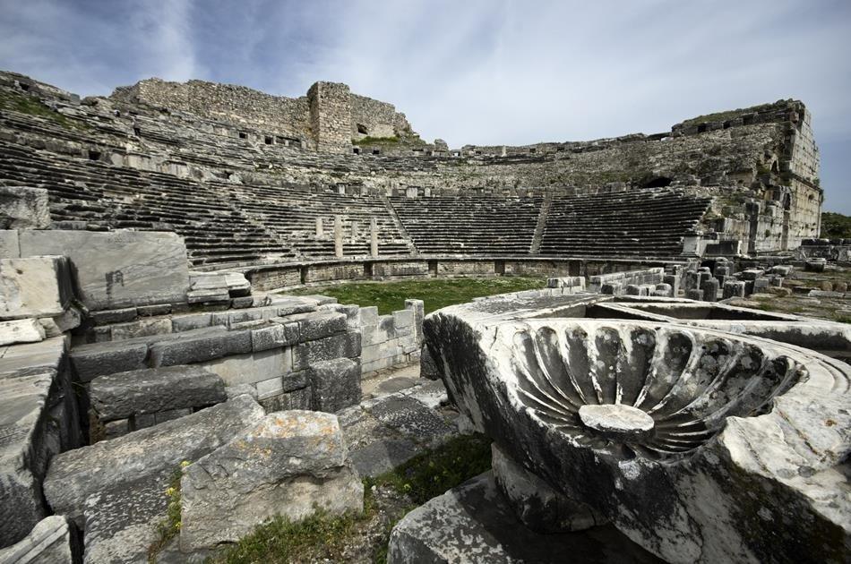 Full Day Private Priene, Miletus And Didyma Tour From Kusadasi