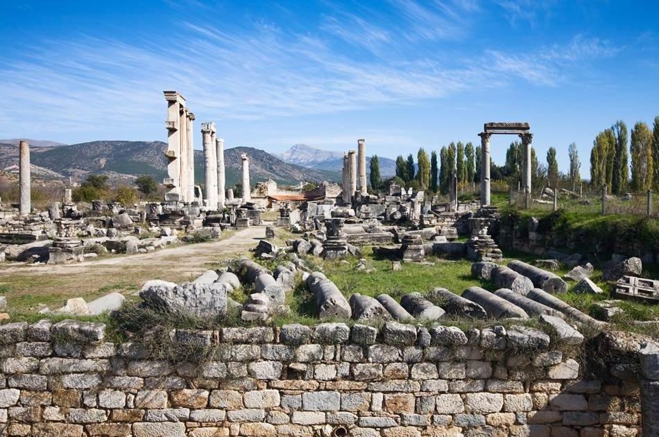 Full Day Private Tour of Aphrodisias and Pamukkale from Kusadasi
