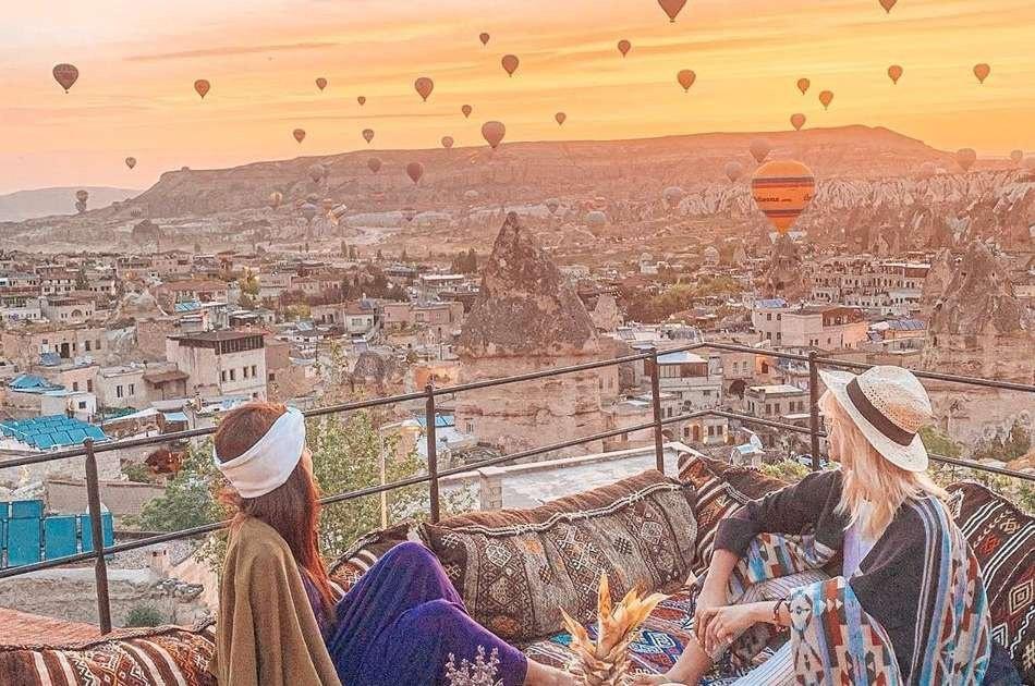 Green Tour Activity Bundle Option 1 in Cappadocia With Balloon Ride