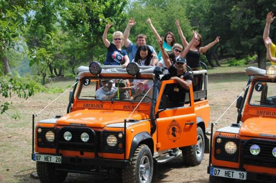 Kusadasi Jeep Safari Adventure Tour