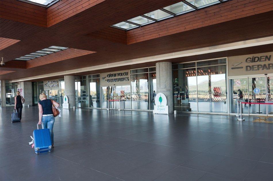 Kusadasi To Dalaman Airport One Way Transfer