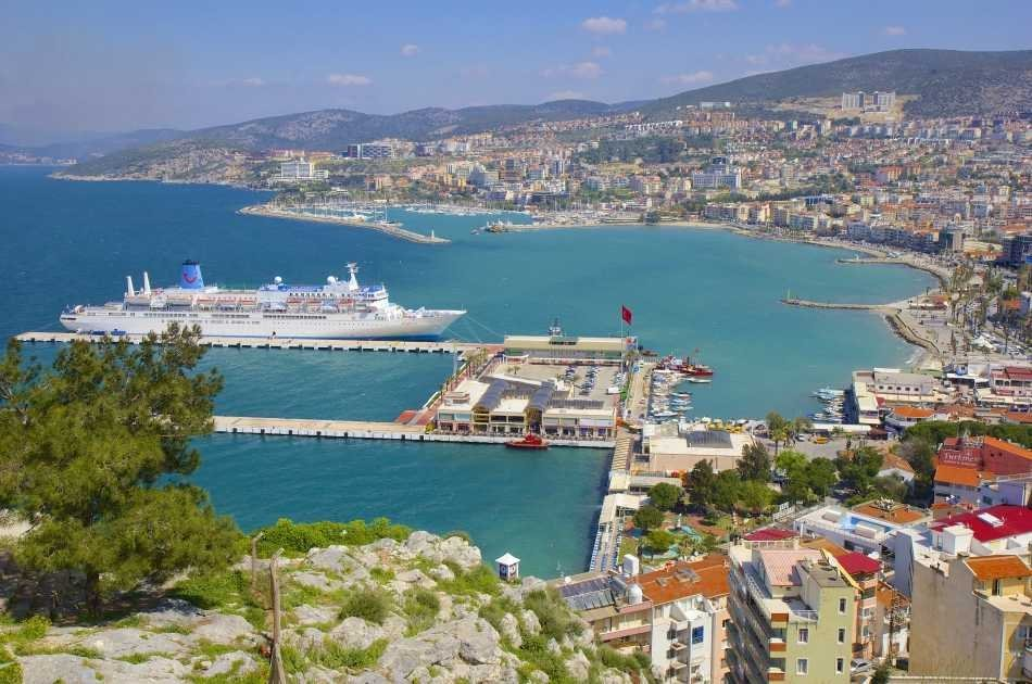 National Park Boat Tour with Foam Party from Kusadasi