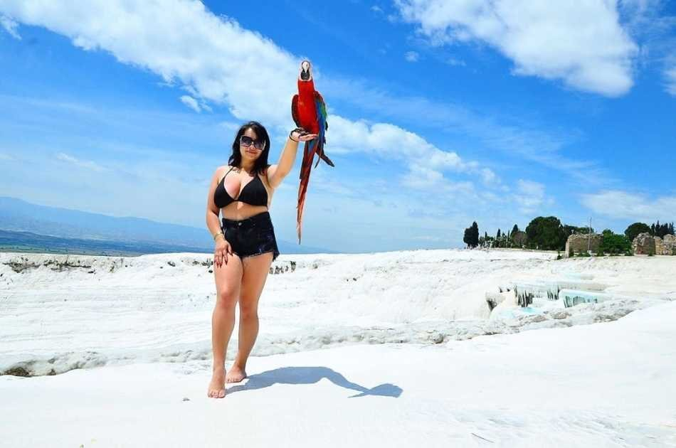 Private Full Day Tour to the White Cliffs of Pamukkale From Antalya