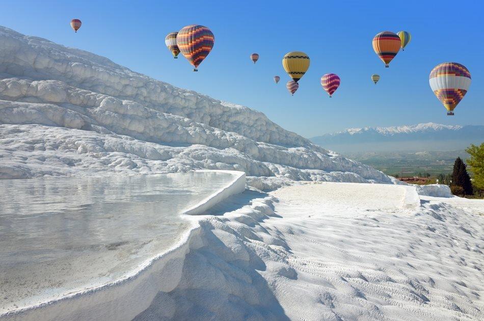 Private Pamukkale Hot Air Balloon Tour