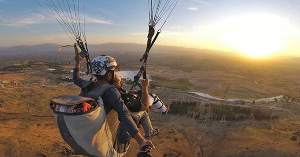 Private Pamukkale Paragliding Tour