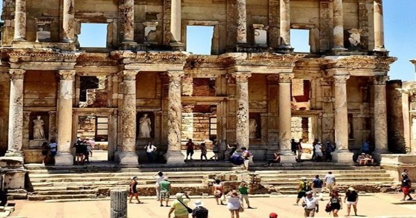 Private Tour Ephesus, Temple Of Artemis & House Of Virgin Mary from Kusadasi