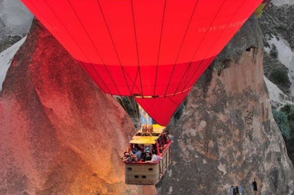 Red Tour Activity Bundle Option 2 in Cappadocia With Hot Air Balloon Ride