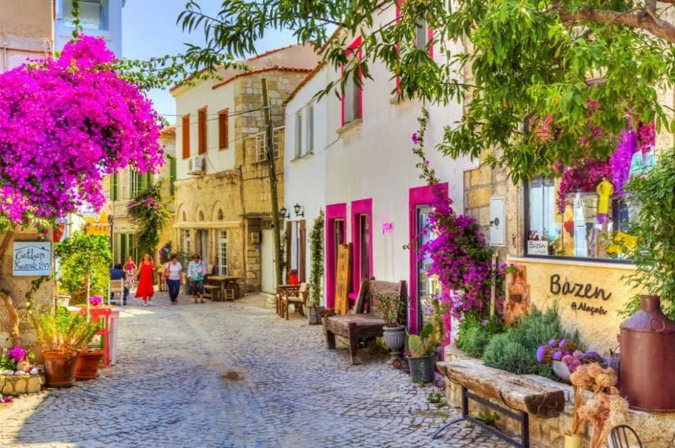 See Cesme and Alacati on a Private Tour With Wine Tasting and Turkish Lunch