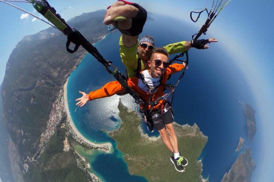Tandem Paragliding from Babadag Mountain - Oludeniz