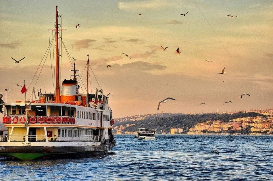 The Bosphorus Cruise Tour from Istanbul