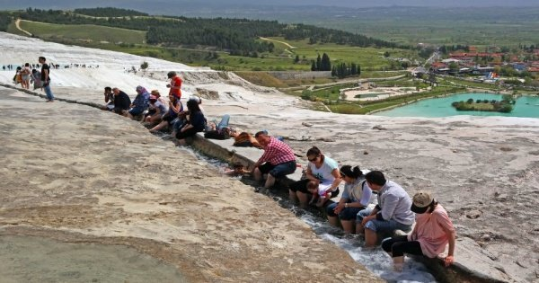 The World Heritage Site Tour of Pamukkale, Ephesus from Kusadasi