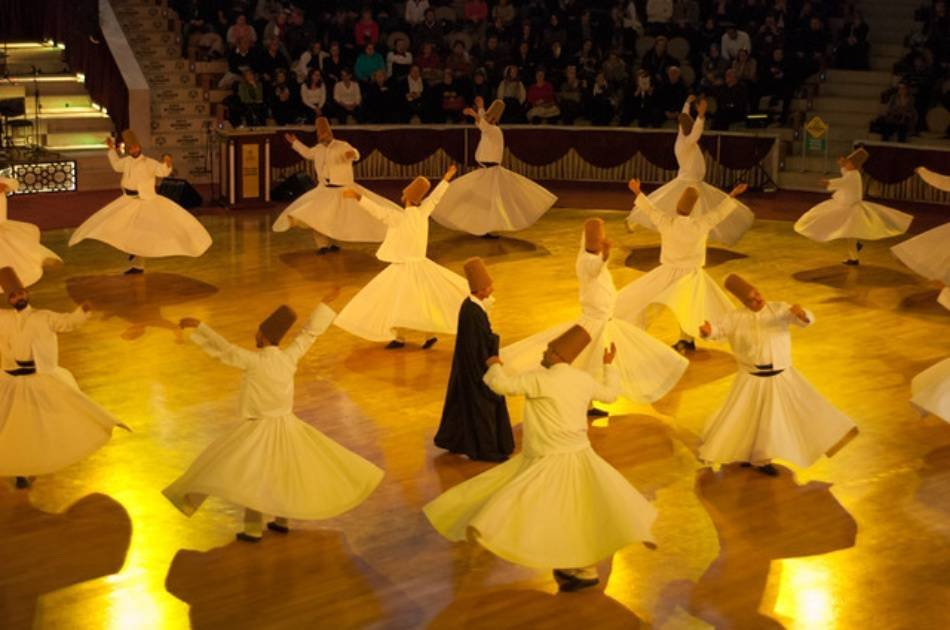 Whirling Dervishes Live Show & Exhibition Tour from Istanbul