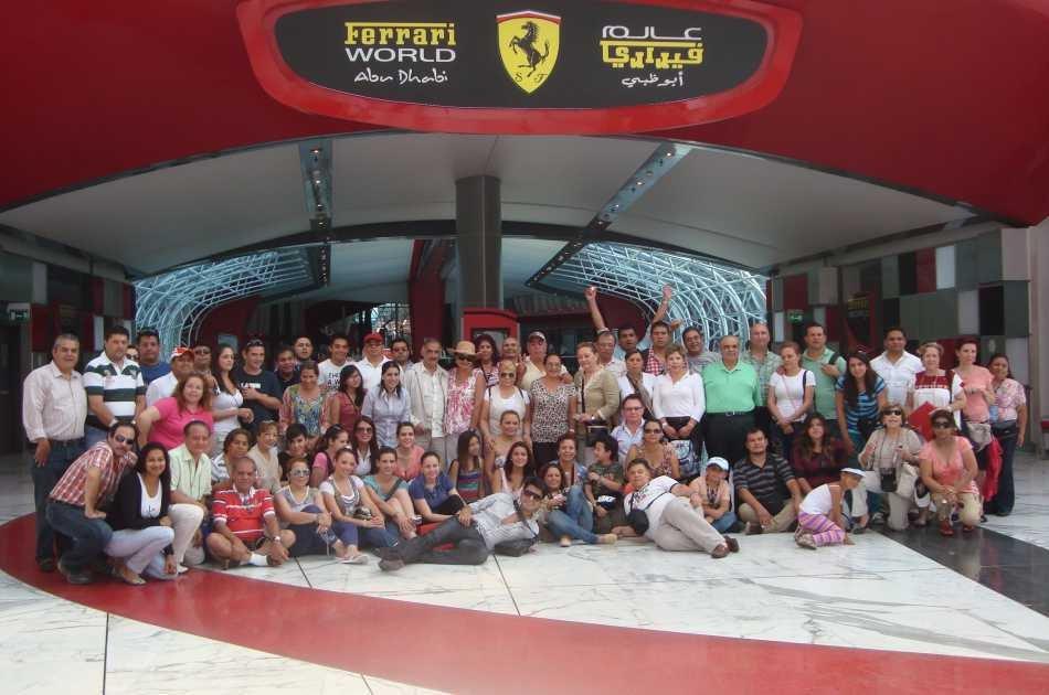 Abu Dhabi Mosque & Ferrari World Tour from Dubai