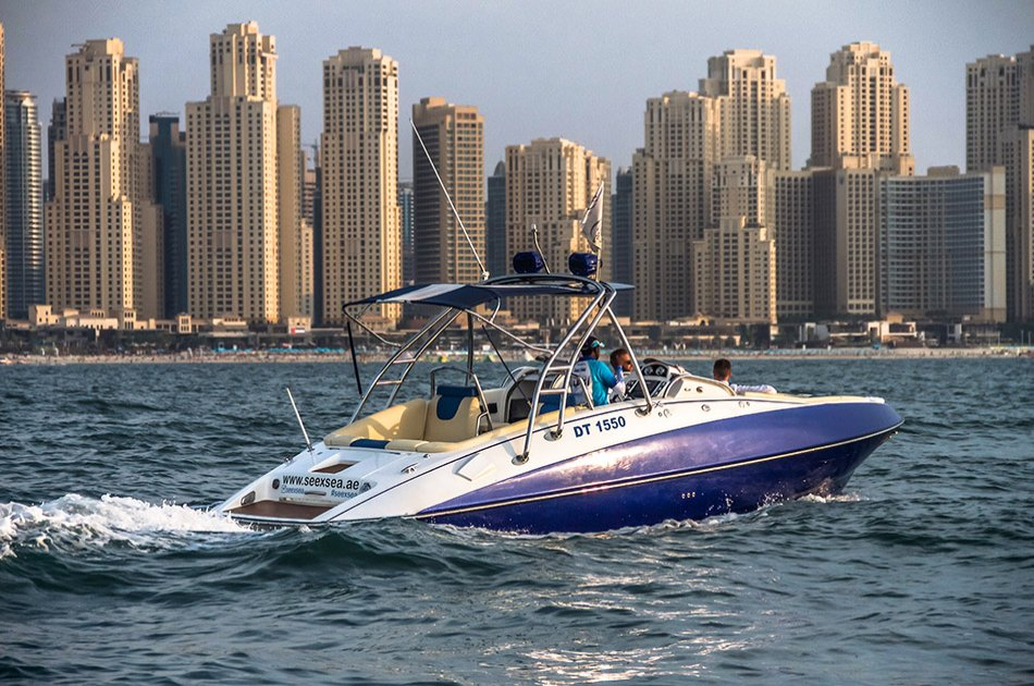 Dubai 75 or 90 Minute Private Sightseeing Tour by Luxury Boat