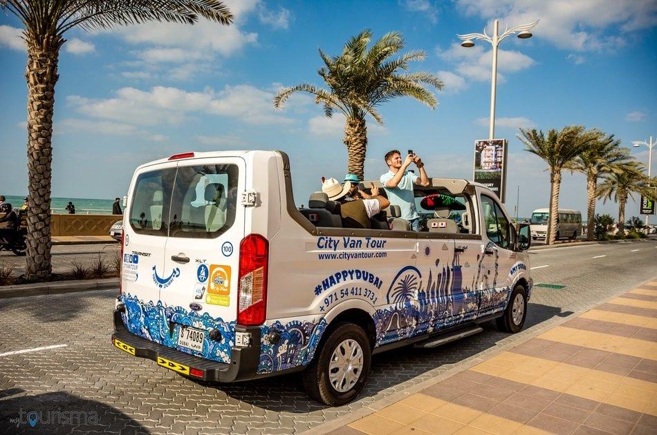 Dubai Skyline Morning City Van Tour