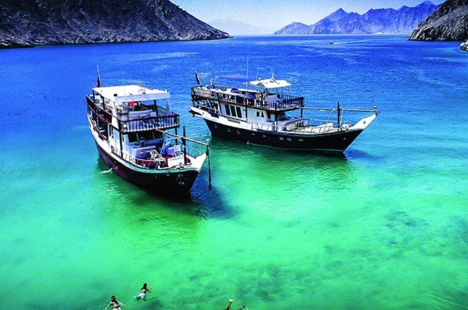 Mussandam Sea Safari With Lunch From Dubai