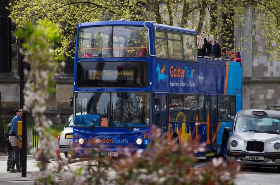 1 Day Hop On Hop Off Open Bus Tour Ticket