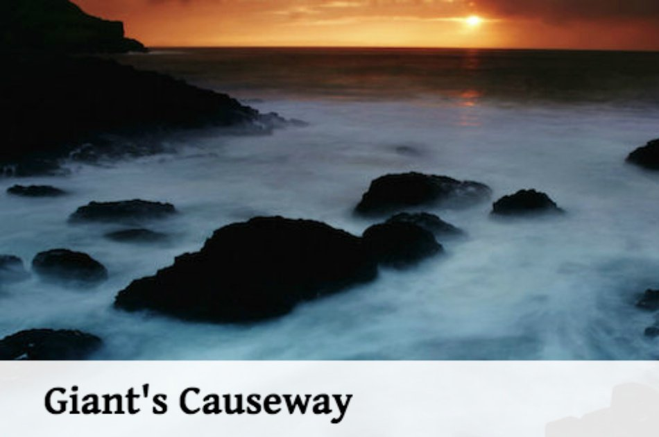 Giants Causeway and Carrick-a-Rede Rope Bridge Group Tour from Belfast