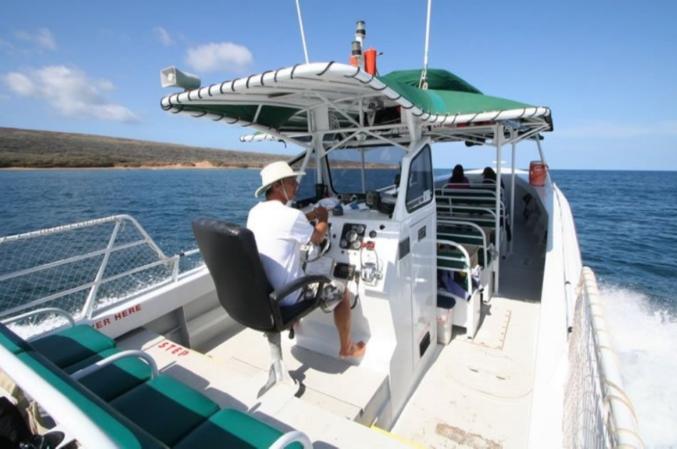 4 Hour Private Charter to Lanai Tropical Hideaway in Hawaii