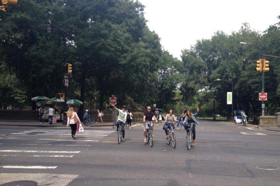 Explore Central Park on an enjoyable 2 Hour Bike Tour with Photographer