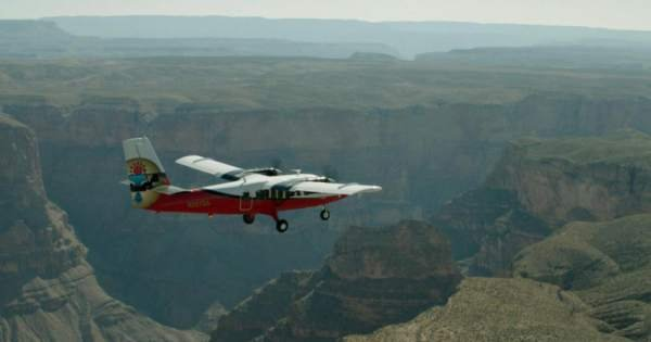 Grand Canyon Airplane Scenic Tour