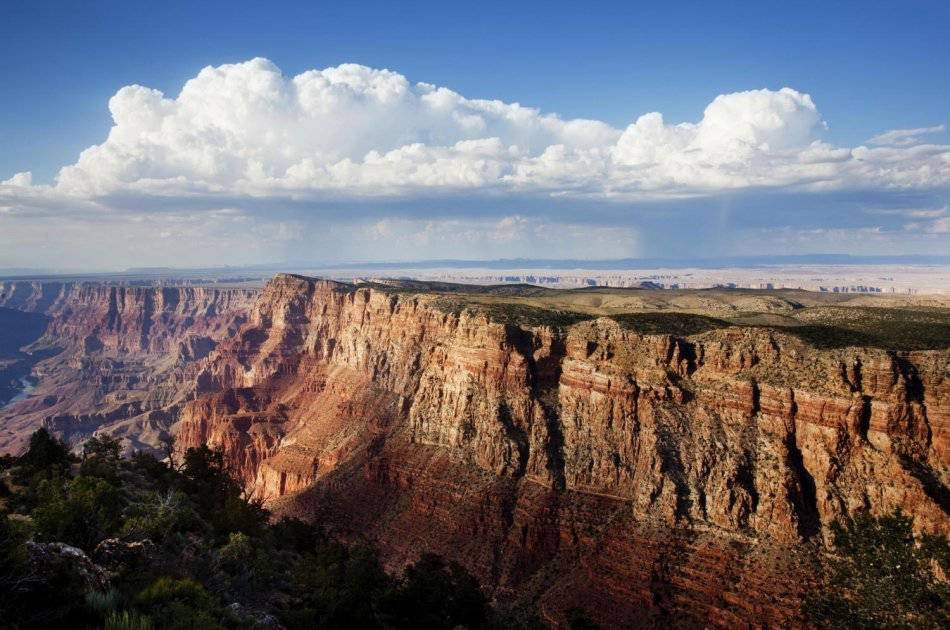 Grand Canyon South Rim Bus Tour With Helicopter Ride