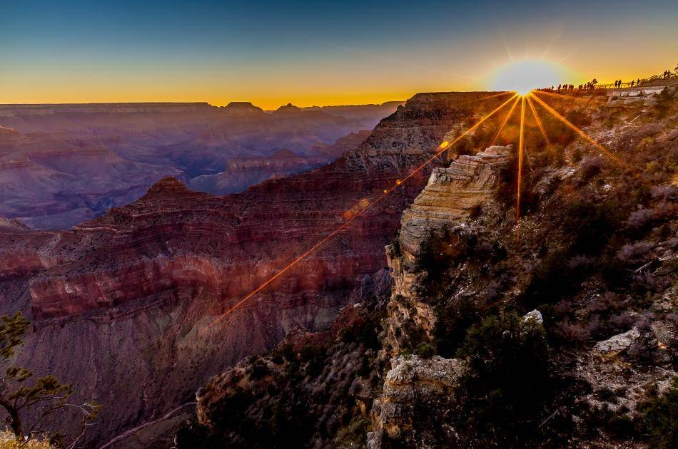 Grand Canyon South Rim Tour by Bus With IMAX Tickets