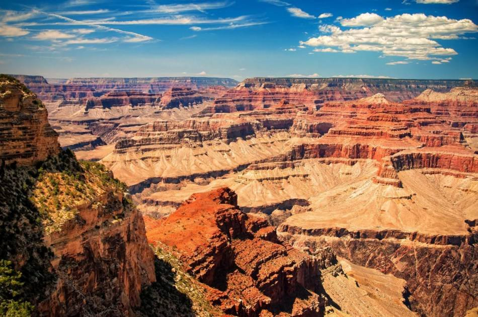 Grand Canyon Tour by Luxury Limo-van With Skydiving Experience