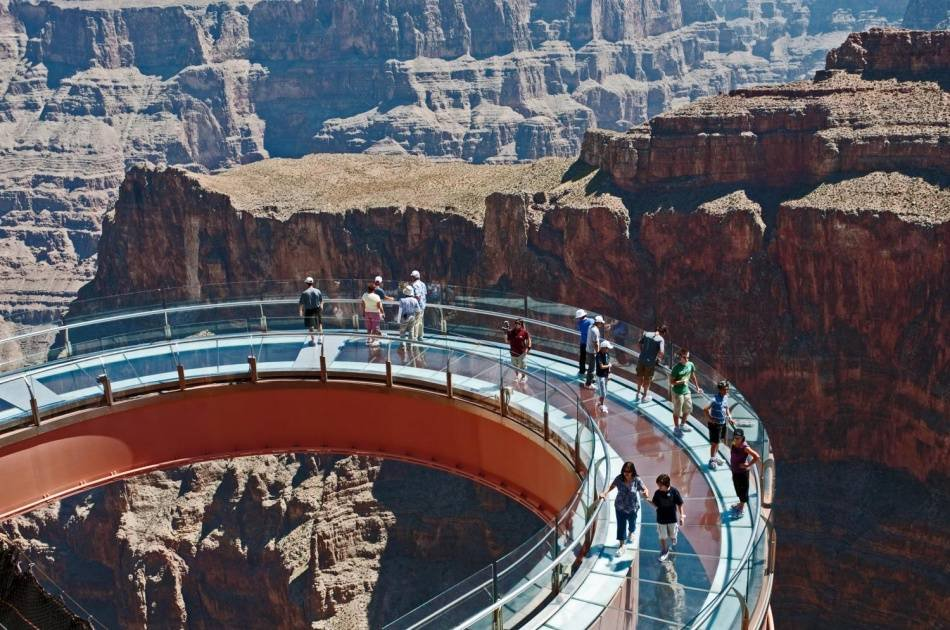 Grand Canyon West Rim by Helicopter & Vip Skywalk Access