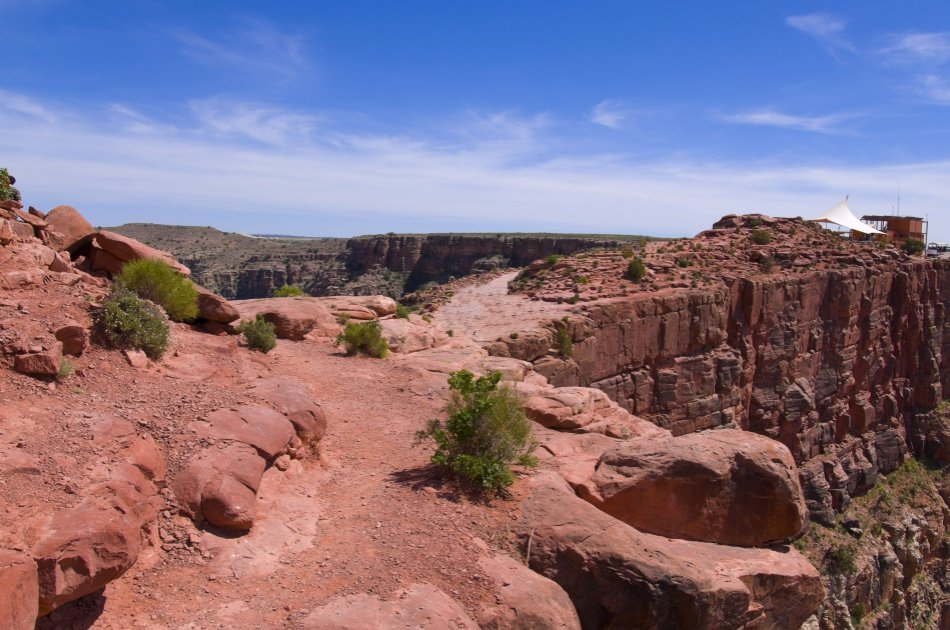Grand Canyon West Rim by Luxury Limo Van from Las Vegas