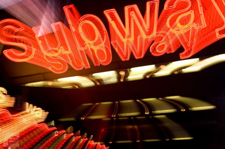Photo Safari in Time Square at Night