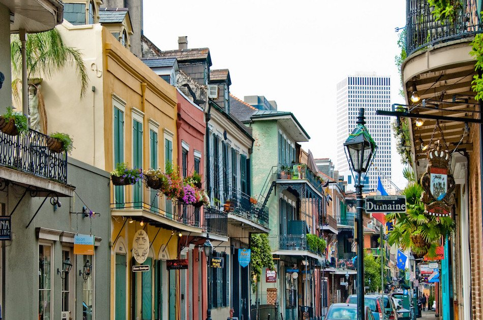 Private French Quarter Walking and Citywide Driving Combination Tour
