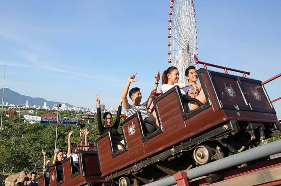 Asia Park Theme Ticket With Roundtrip Transfer