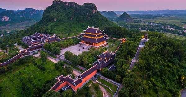 Bai Dinh Pagoda - Trang An Eco Tour Joining Group