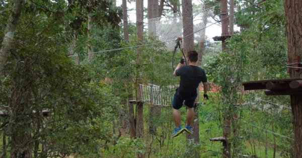 Da Lat Hight Ropes Course ( Zip Line) Tour